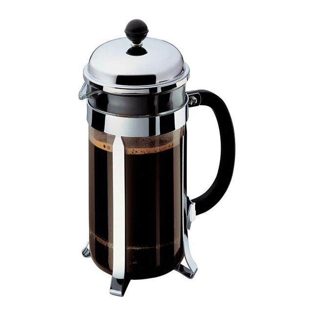 BODUM - cafetière à piston 8 tasses 1l - 192816 acier