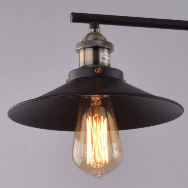 Kosilum - Lampe industrielle suspension - Triple Piattino
