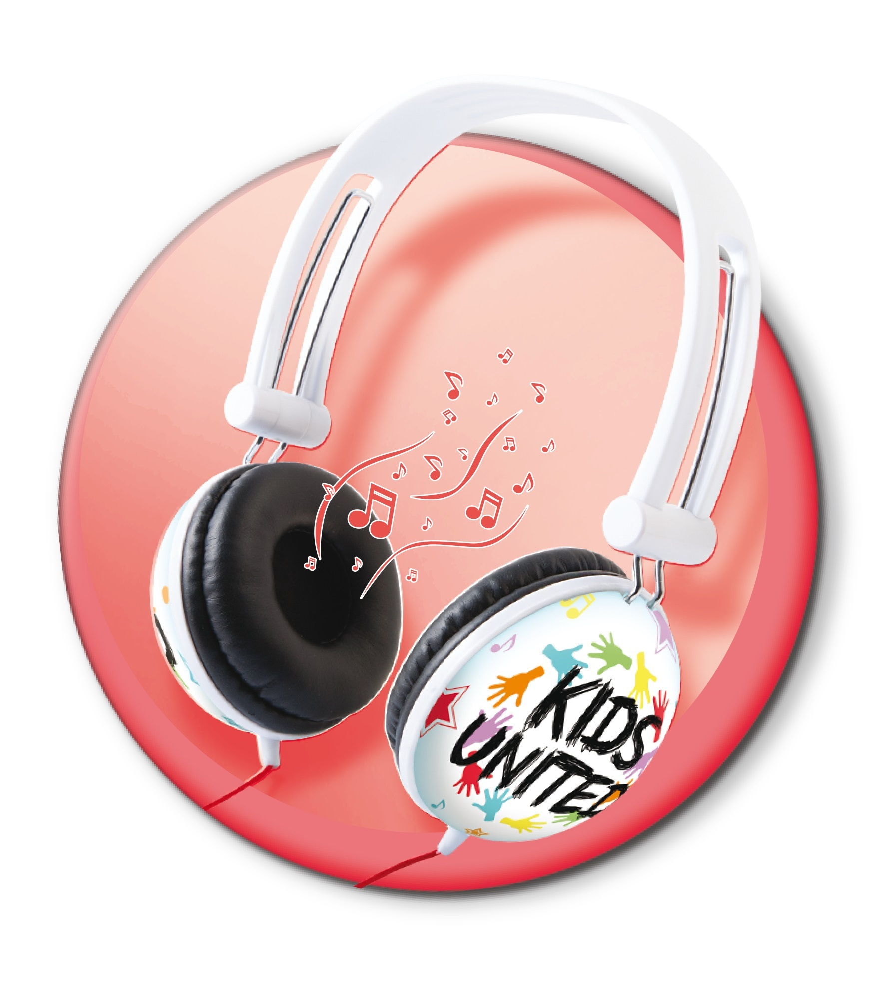 Canal Toys Kids United Casque Audio Ct07203 Pas Cher Achat