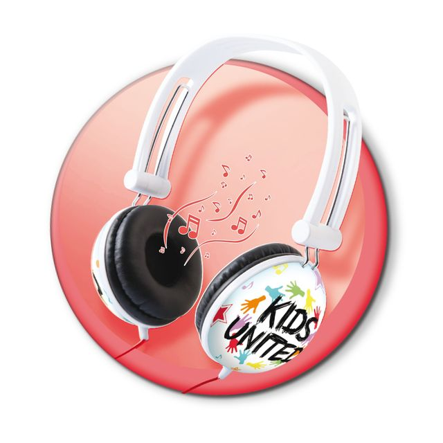 CANAL TOYS Kids United - Casque audio - CT07203 Super ton look avec ce casque à l'effigie des Kids United !
