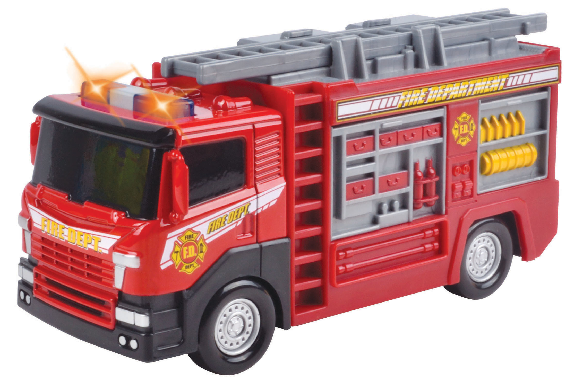 SPEEDTRACK Camion Pompier métal - Sons et lumières - 78071CF