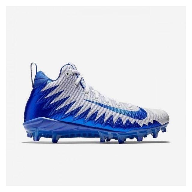 Pro Pro Futebol Menace Alfa Mid Nike Azul Azul Crampons A6qRxnI