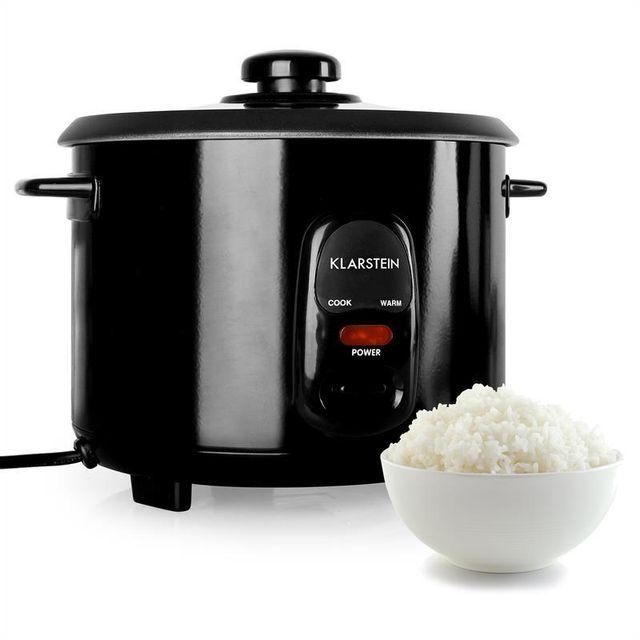 KLARSTEIN Osaka 1,5 Cuiseur de riz 500W 1,5L Réchaud -noir