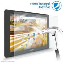Karylax - Protection d'écran en Verre Nano Fléxible Incassable Dureté 9H, Ultra fin 0,2mm et 100% transparent ultra Résistant pour Tablette Archos 101c Platinum 10,1