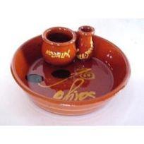 Revimport - Coupelle ramequin à Olives Gm terre brune 16 cm