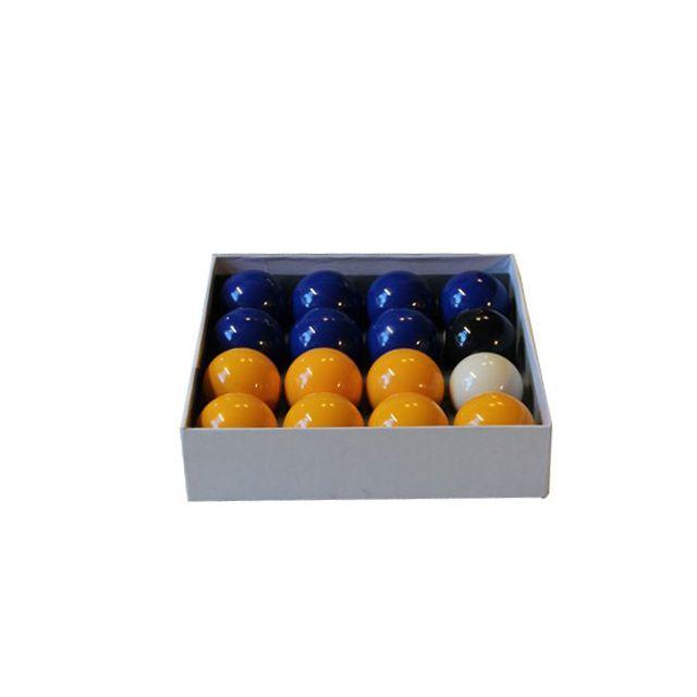 Dpt - Billes Pool Jaune & Bleu Standard 50,8 mm