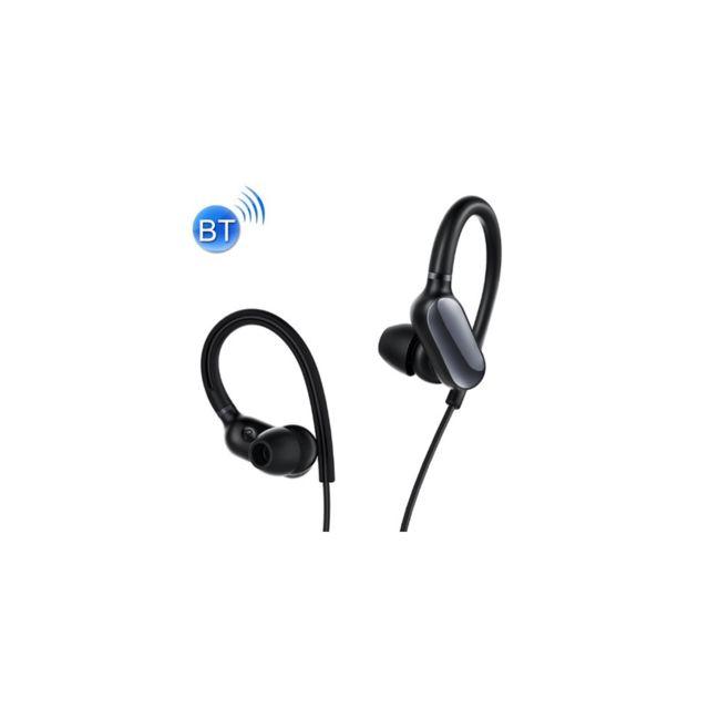 Auto-hightech Mini écouteur crochet d'oreille Bluetooth Sport , casque étanche Ipx4 Sans Fil avec Contrôle Du Fil, Pour iPhone, Galaxy