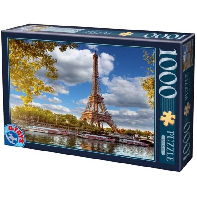 Unbekannt Puzzle La Tour Eiffel Paris 1000 piéces