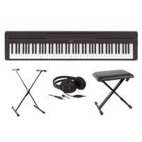 Yamaha - Pianos Numériques Fullpack P45 Portable - banquette - casque