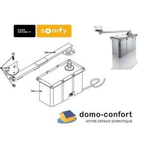 somfy moteur enterr bras de remplacement pour axovia. Black Bedroom Furniture Sets. Home Design Ideas