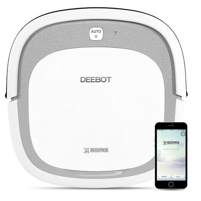 ecovacs deebot slim 2 achat aspirateur robot. Black Bedroom Furniture Sets. Home Design Ideas