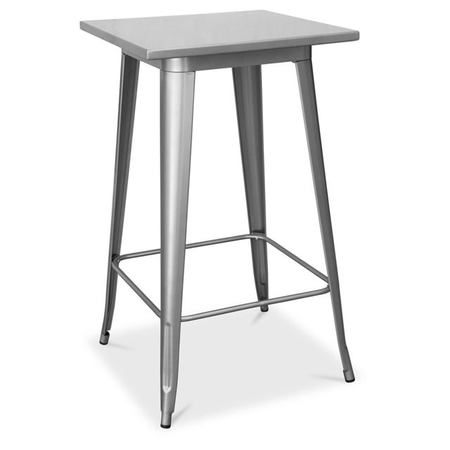 Privatefloor Table pour tabouret de bar Tolix Pauchard Style