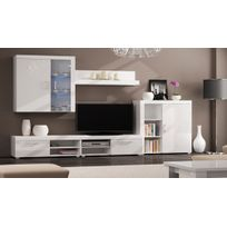 comfort home innovation ensemble tv meuble tv led contemporain ensemble salon