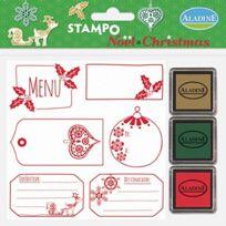 Aladine - 03775 - Stampo - NoËL - Etiquettes