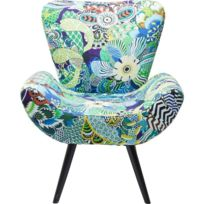 karedesign fauteuil wing patchwork kare design pas cher achat vente fauteuils rueducommerce. Black Bedroom Furniture Sets. Home Design Ideas