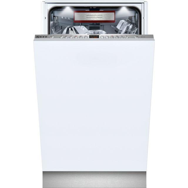 NEFF lave-vaisselle 45cm 10c 44db a+++ tout intégrable - s78t69y6eu