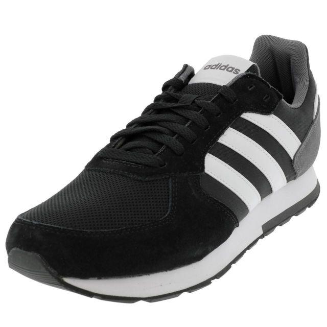 usine authentique 0c377 d7feb Adidas - Chaussures mode ville 8k vintage h noir gris Noir ...
