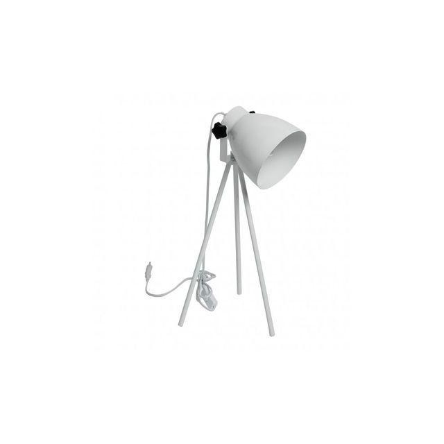 boutica design lampe poser blanc 1x40w hof regenbogen 497032401 multicolor pas cher. Black Bedroom Furniture Sets. Home Design Ideas