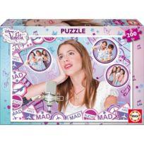 Educa Borras - 15855 - Puzzle Classique - Violetta - 200 PiÈCES Eb15855