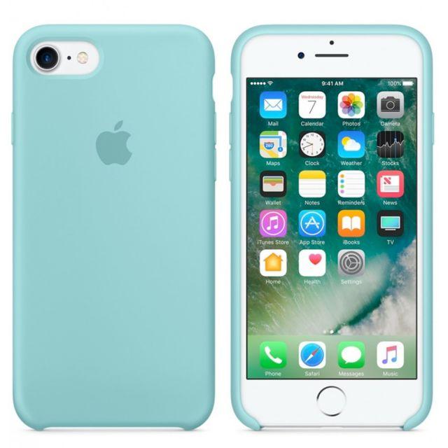 coque iphone 8 bleu clair