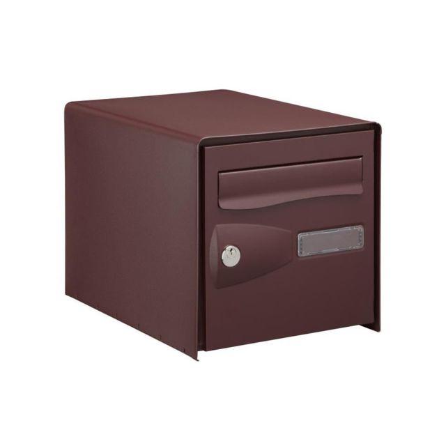 decayeux bo te aux lettres eolys double face rouge ral. Black Bedroom Furniture Sets. Home Design Ideas
