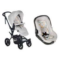 Jané - Poussette Duo Crosswalk R & Matrix Light 2 - Pearl