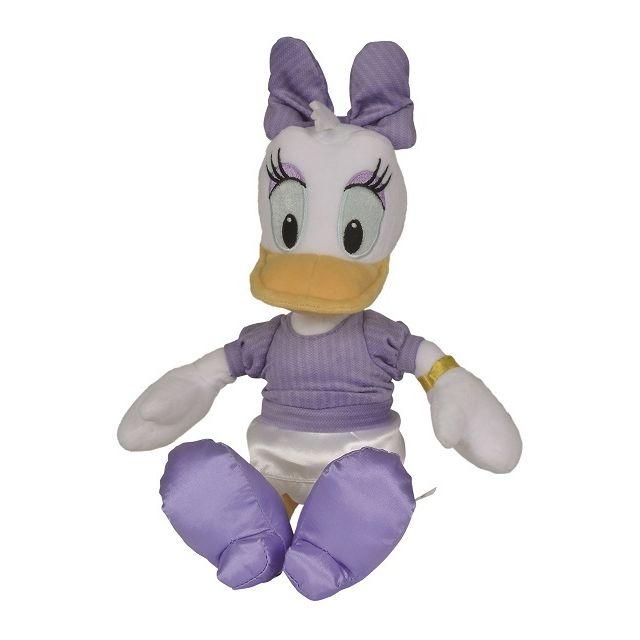 Nicotoy - Peluche Daisy Robe Blanche 30 Cm - Peluche - Disney - Enfant