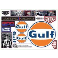 Gulf - Stickers Logo