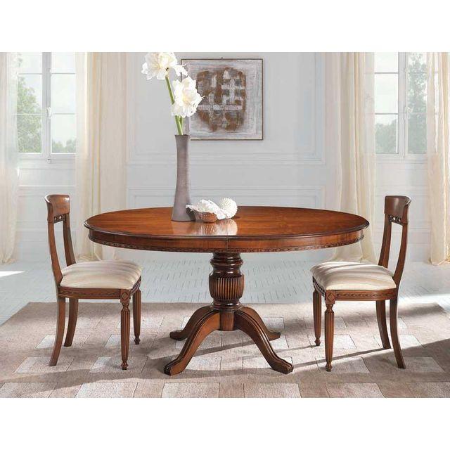Artigiani Veneti Riuniti Table à rallonge ovale cm 160