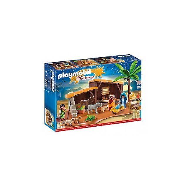 Playmobil 5588 creche de noel 1215 pas cher achat - Creche de noel pas cher ...