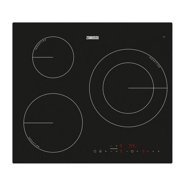 Totalcadeau Plaque à Induction à 3 foyers 60 cm - Plaque de cuisson cuisine