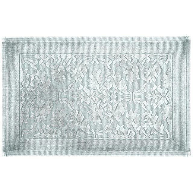 vent du sud tapis de bain en coton 50x80 cm firenze galet par pas cher achat vente tapis. Black Bedroom Furniture Sets. Home Design Ideas