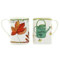 Just Mugs - Lot de 6 mugs Garden