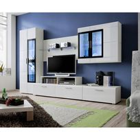 Meuble tv hauteur 80 cm achat meuble tv hauteur 80 cm pas cher rue du commerce - Meuble tv design hauteur 80 cm ...