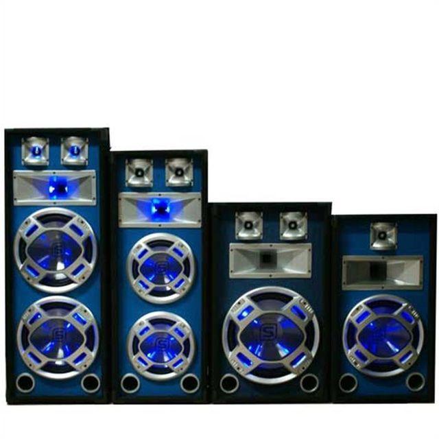 SKYTRONIC Skytec Pack sono pro 2 enceintes PA passives 1200w max