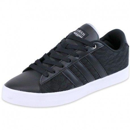 Adidas originals Chaussures Noir Cloudfoam Daily Qt Lx
