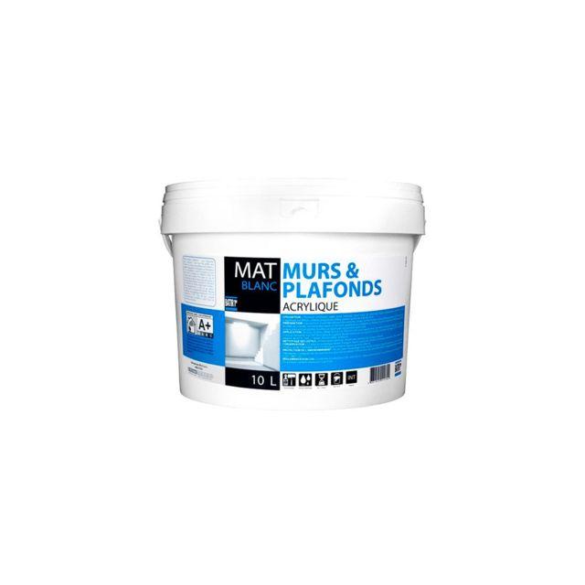 Batir Peintures Peinture Acrylique Murs Et Plafonds Mat 10