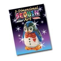 Kitfix Swallow Group Ltd - Ksg 3D Sequins Penguin