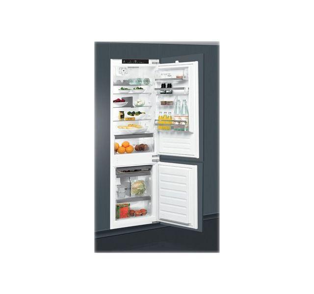 whirlpool r frig rateur combin encastrable 275 l. Black Bedroom Furniture Sets. Home Design Ideas