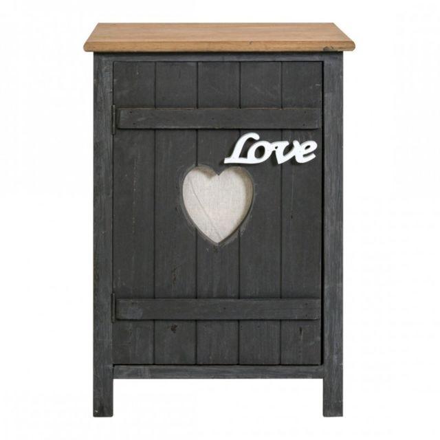 mobili rebecca table de nuit chevet 1 port blue motif romantique shabby chambre bain bleu fonc pas cher achat vente chevet rueducommerce