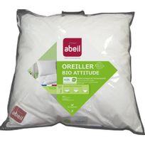 Abeil - 15000000532 Oreiller Classique Bio Attitude Coton Blanc 60 X 60 Cm