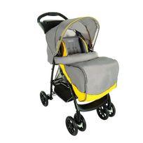 Graco - Poussette Citadine Mirage + Solo Yellow/Grey avec Tablette Parentale et Tablier