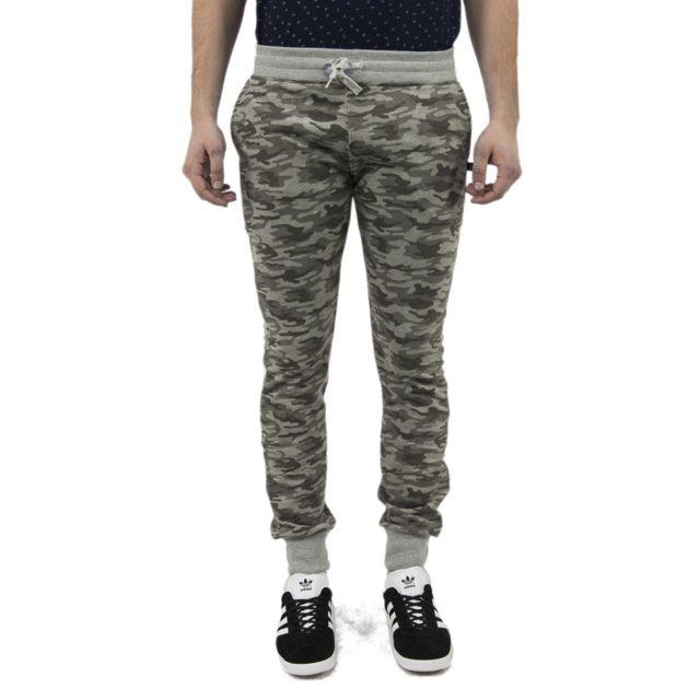 Sweet Pants Pantalons terry print slim vert