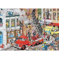 Jumbo - Puzzle 500 pièces : Jan Van Haasteren : Alerte incendie