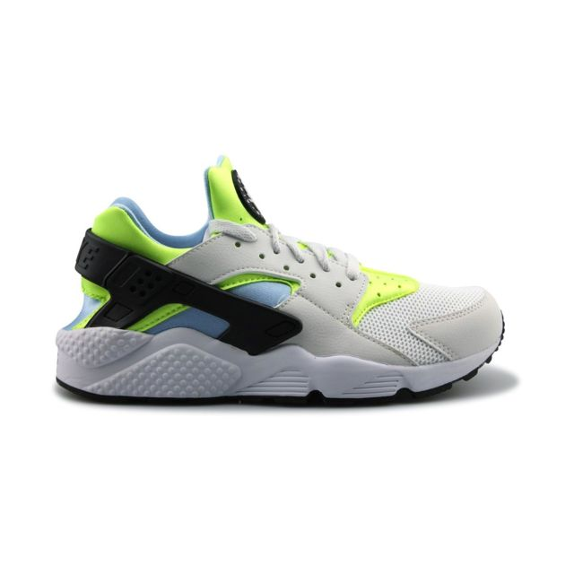 new styles f7b60 9f8f8 Nike - Baskets Air Huarache Blanc - pas cher Achat / Vente Baskets homme -  RueDuCommerce