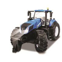 Maisto - Tech Véhicule radiocommandé Tracteur New Holland - Échelle 1/6eme - Piles non incluses