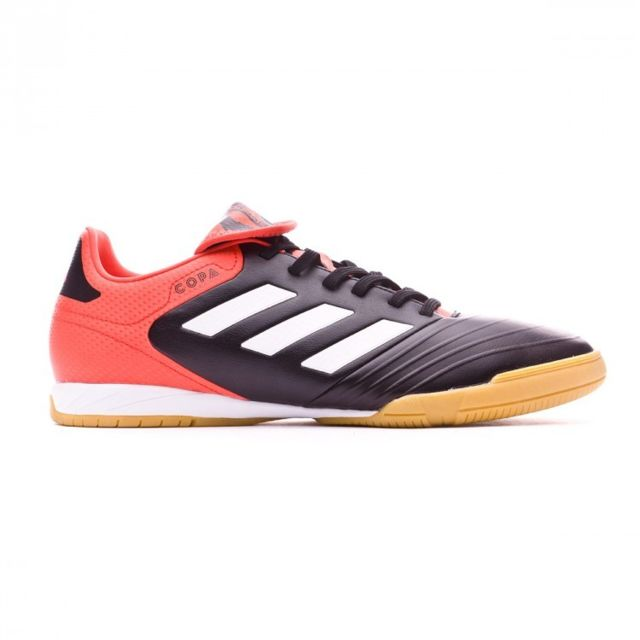 best service 39a30 514d8 Adidas - Copa Tango 18.3 In Core black-White-Real coral - pas cher Achat   Vente Chaussures foot - RueDuCommerce