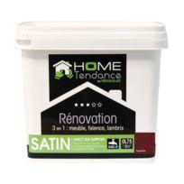 Home Tendance - Peinture rénovation multi-supports 3 en 1 0,75 L rouge nina satiné