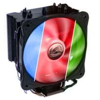 Alpenfohn - Ventilateur processeur Ben Nevis Advanced Rgb Black Edition - 130mm