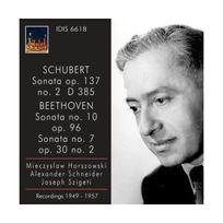 Idis - Sonates pour violon : Op.137 Schubert & Opp.96, 30 n2 Beethoven
